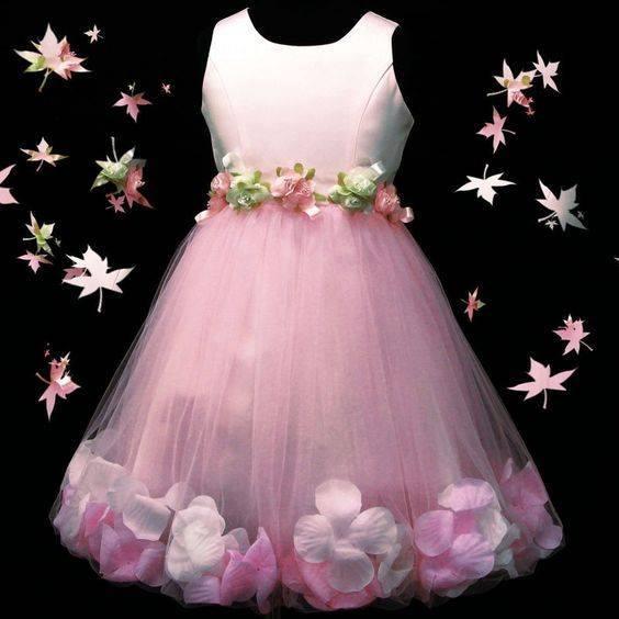 Vestidos hermosos para niñas (23) | Decoracion de interiores ...