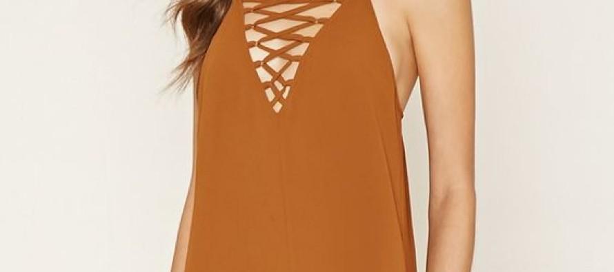 Vestidos lace-up