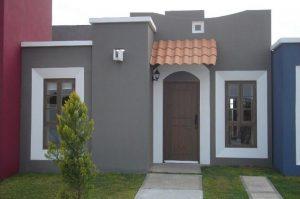 decoracion de fachadas para casas de infonavit