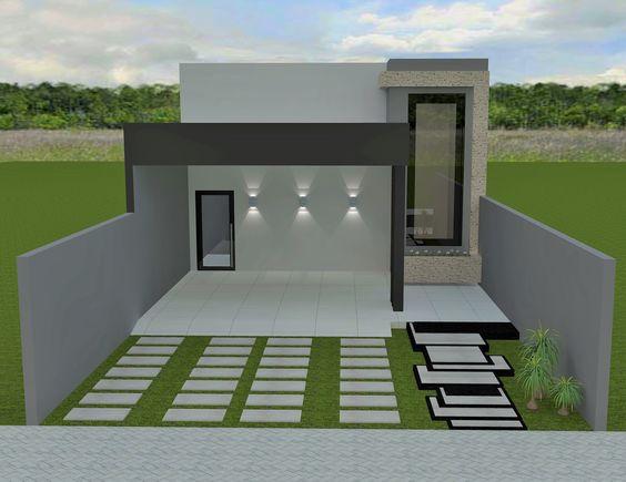 decoracion de fachadas para casas pequeñas