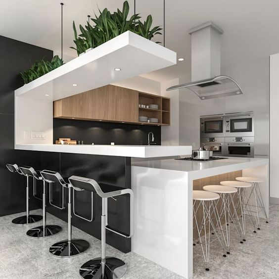 Diseño de cocinas modernas 2019 - 2020 | Como Organizar la ...