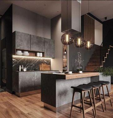 Diseno De Cocinas Modernas 2019 2020 Como Organizar La Casa