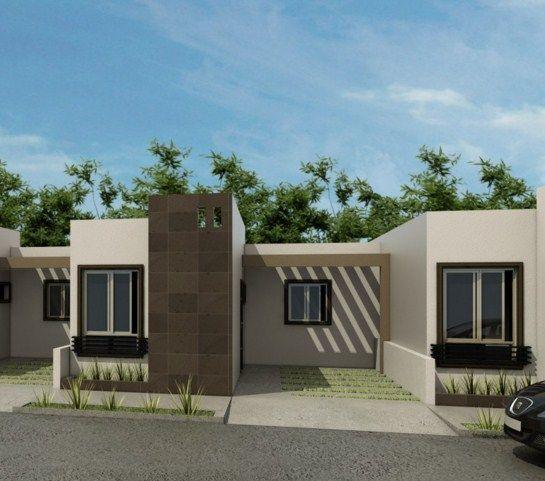 jardin frontal de casas pequeñas