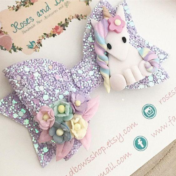 Moños de unicornio para niñas