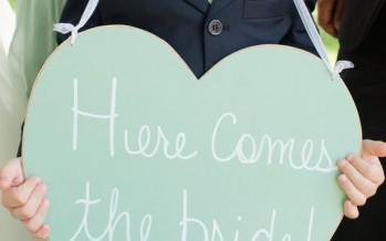 Como anunciar la llegada de una novia a la boda