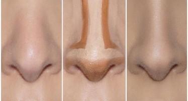 Contorno para una nariz mas pequeña y afinada