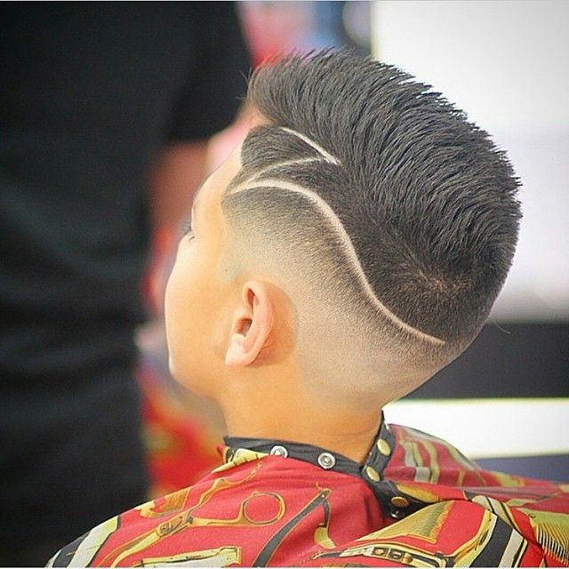 Cool Line Designs In Hair : Cortes de cabello para ninos en este