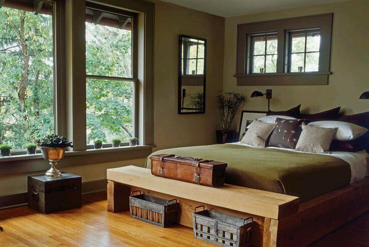 country bedroom paint colors decoracion de interiores en verde olivo y militar 11 15032 | Decoracion de interiores en verde olivo y militar 11