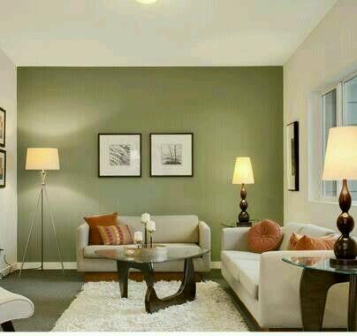Decoracion de interiores en verde olivo y militar 12 for Decoracion de interiores verde