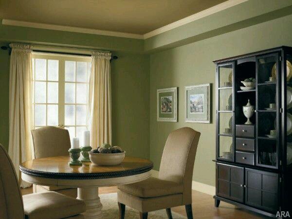 Decoracion De Interiores En Verde Olivo Y Militar 9 Como Organizar La Casa Fachadas