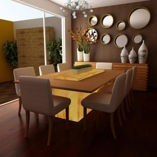 Hermosas decoraciones para comedores que te van a fascinar for Decoraciones de casas modernas 2016