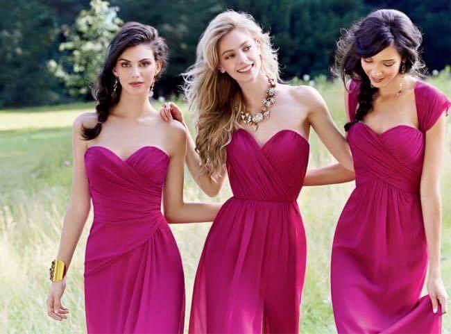 Hermosos vestidos para acudir a una boda o ser dama de honor (2 ...