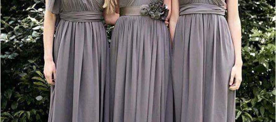Hermosos vestidos para acudir a una boda o ser dama de honor