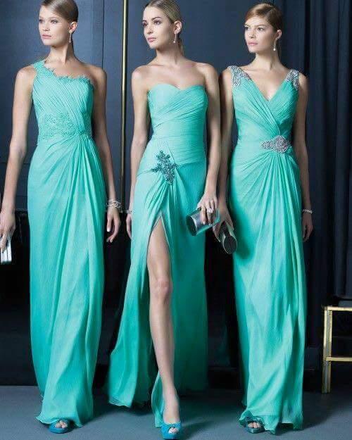 Vestidos para damas de honor facebook