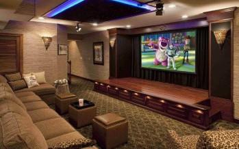 Ideas hermosas para convertir tus espacios en un cine ¡Quiero todas!