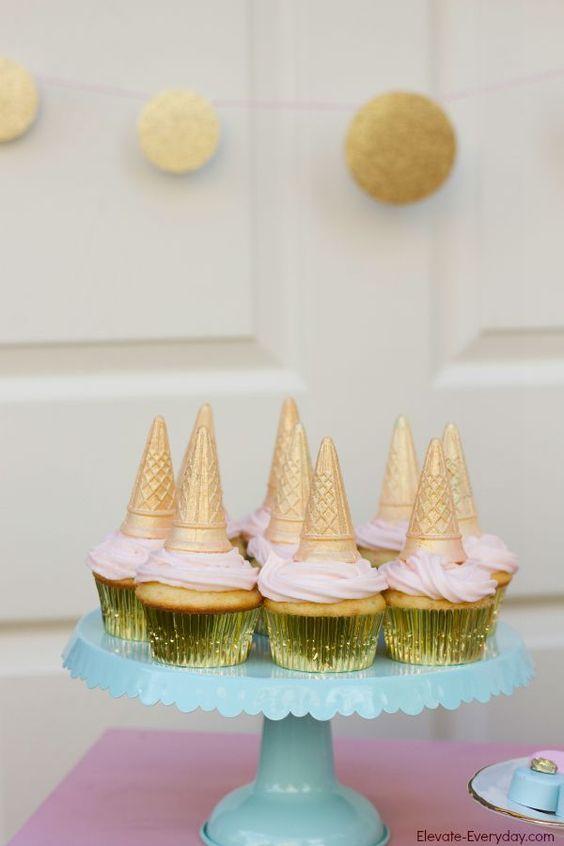 Ideas para decorar una fiesta de cumplea os de unicornios 18 - Comidas para cumpleanos en casa ...