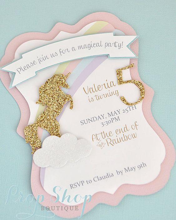 Ideas para decorar una fiesta de cumpleaños de unicornios (7)