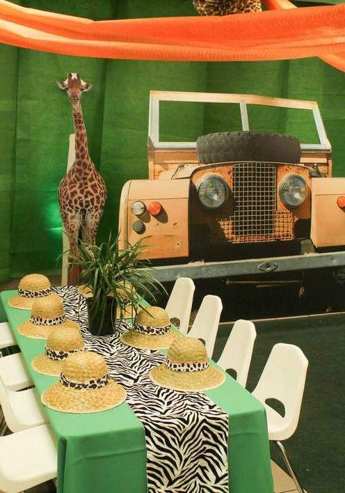Ideas Para Fiesta Infantil Con Tema Safari Guía Para Su