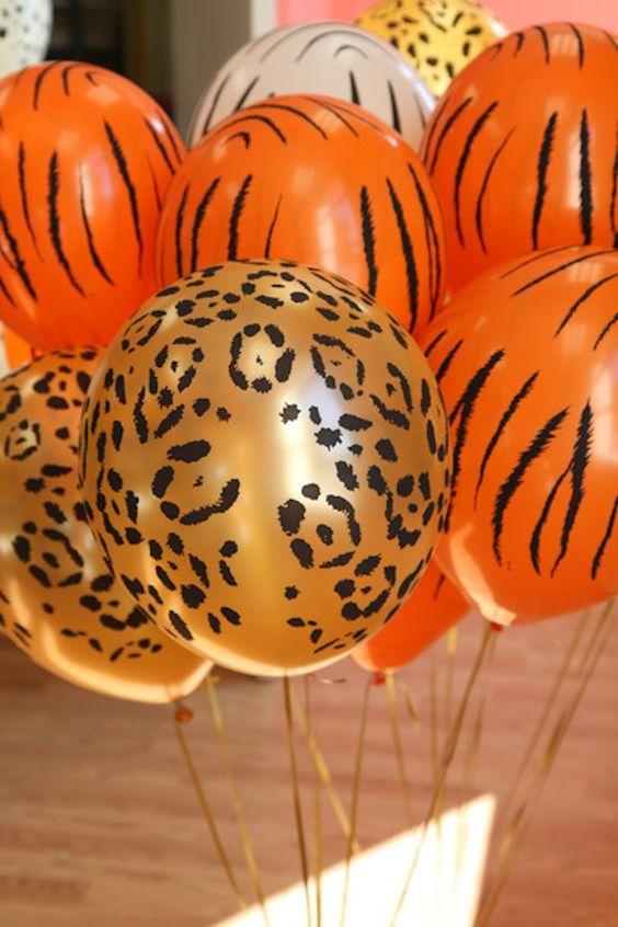 Ideas Para Fiesta Infantil Con Tema Safari 35 Como