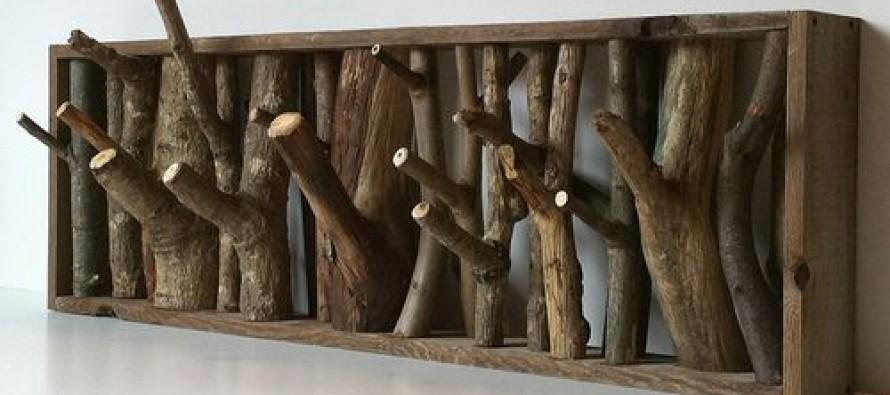 Ideas para reciclar madera rustica