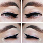 Maquillaje de ojos donde el delineado es el protagonista (4)