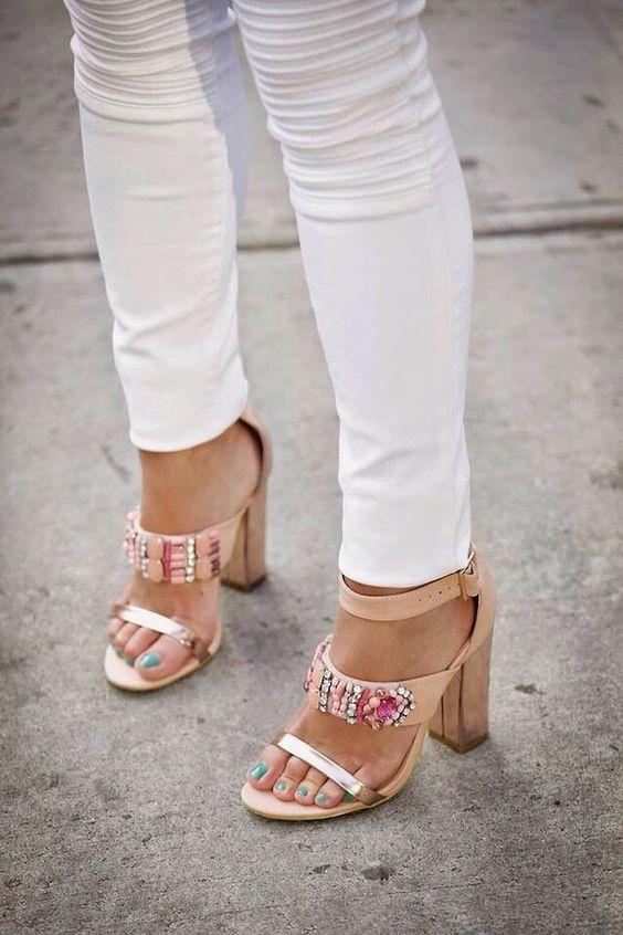 Zapatos de tacon grueso tendencia verano 2016 (22)