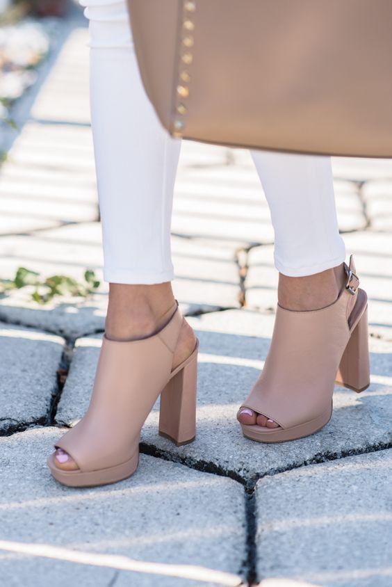 Zapatos de tacon grueso tendencia verano 2016 (7