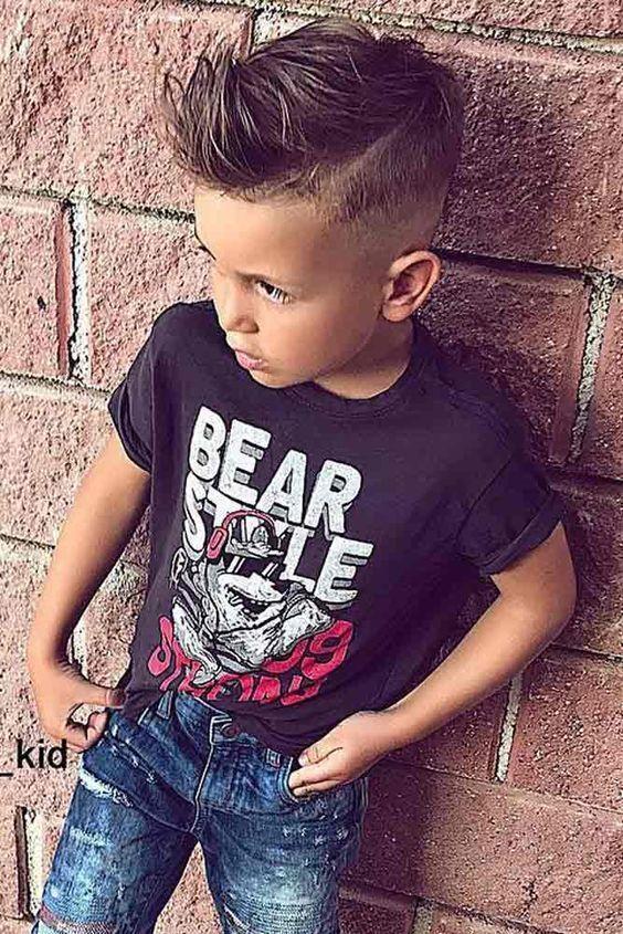corte de cabello escolar para niño