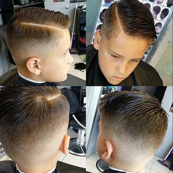 Corte de cabello para niños de 10 años
