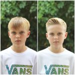 corte de cabello para niño corto