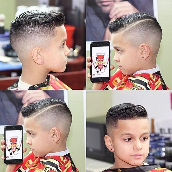 corte de cabello para niños varones de 7 años