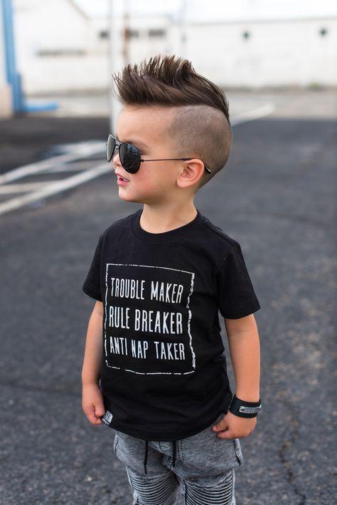 corte de pelo alocado para niño