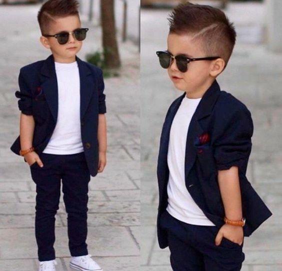 corte de pelo estilo clasico para niño