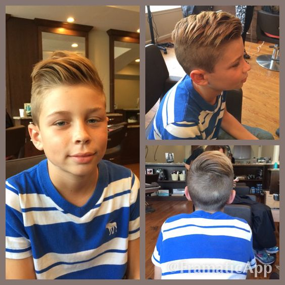 Corte de pelo para varones de 11 años