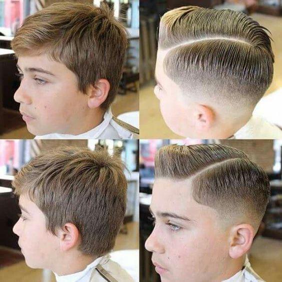 Corte de pelo para niños de 12 años