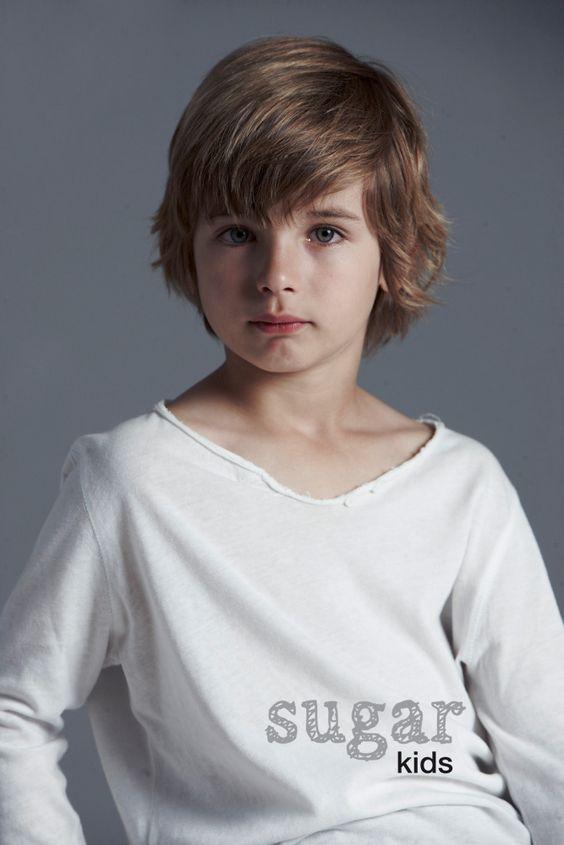cortes de cabello pelo largo para niño