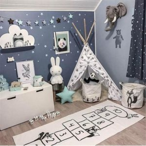 Decora la habitación de tus hijos con tapetes