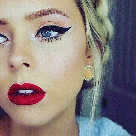 Diferentes estilos de delineado de ojos