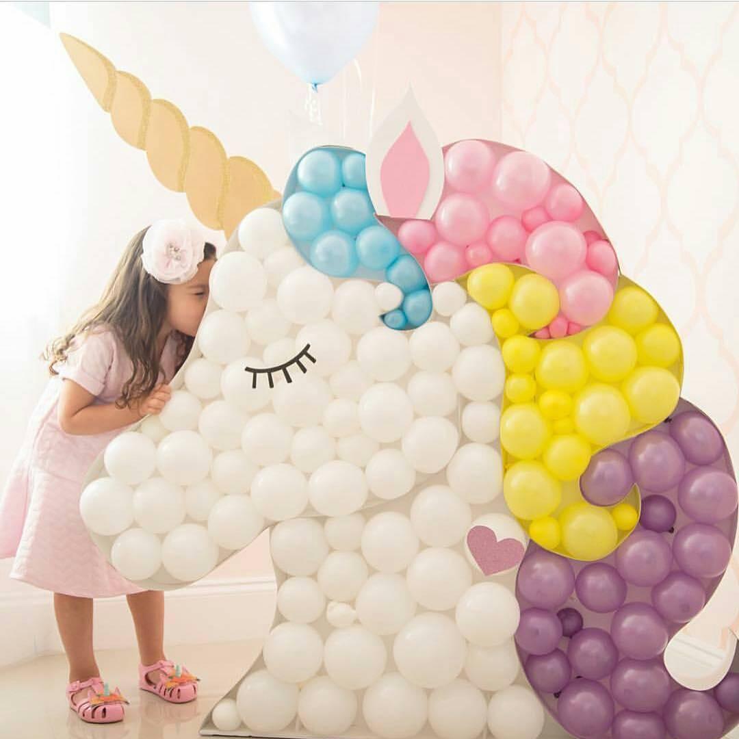 Ideas para decorar una fiesta de cumplea os de unicornios - Decoracion cumpleanos bebe 1 ano ...