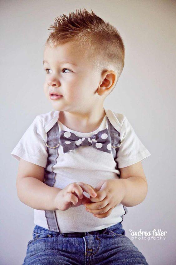peinados para niños chiquitos