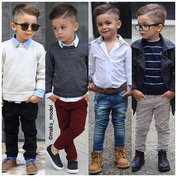 peinados para niños de 4 años