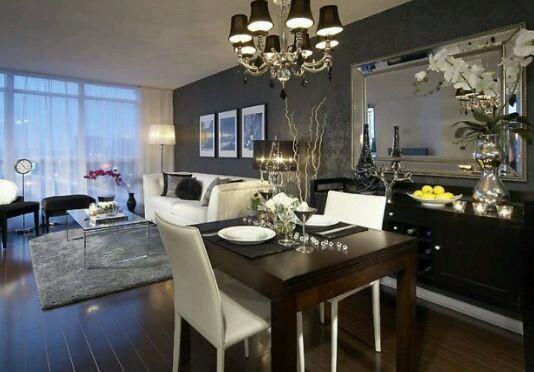 Como decorar comedores modernos 8 decoracion de for Como organizar living comedor