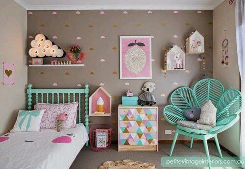 Como organizar y decorar habitaciones infantiles | Como Organizar la ...