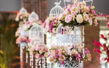 Decoracion de bodas con jaulas