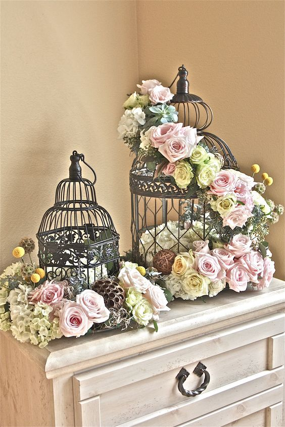 Decoracion de bodas con jaulas 29 decoracion de for Decoracion casa novia