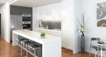 Decoracion de cocinas en color blanco