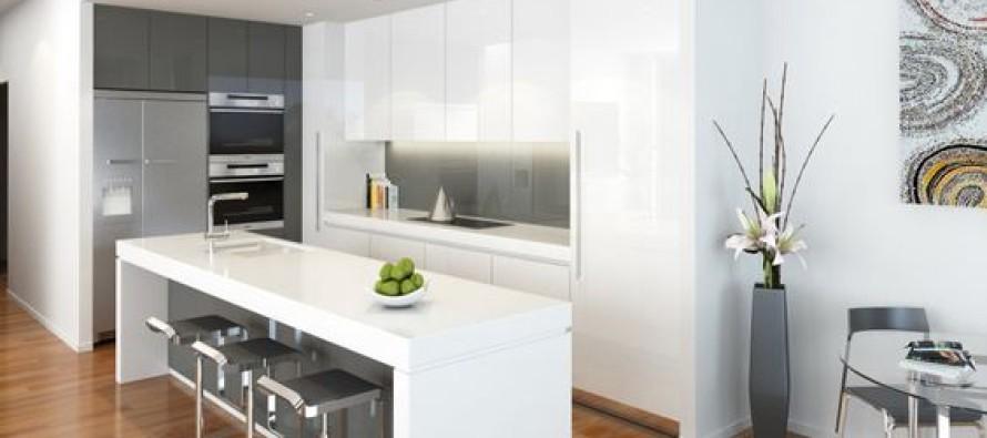 Decoracion de cocinas en color blanco curso de - Cocinas en color blanco ...