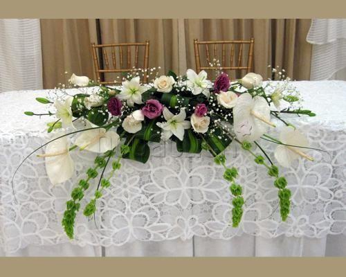Decoracion de mesa de boda decoracion de interiores - Decoracion floral para bodas ...