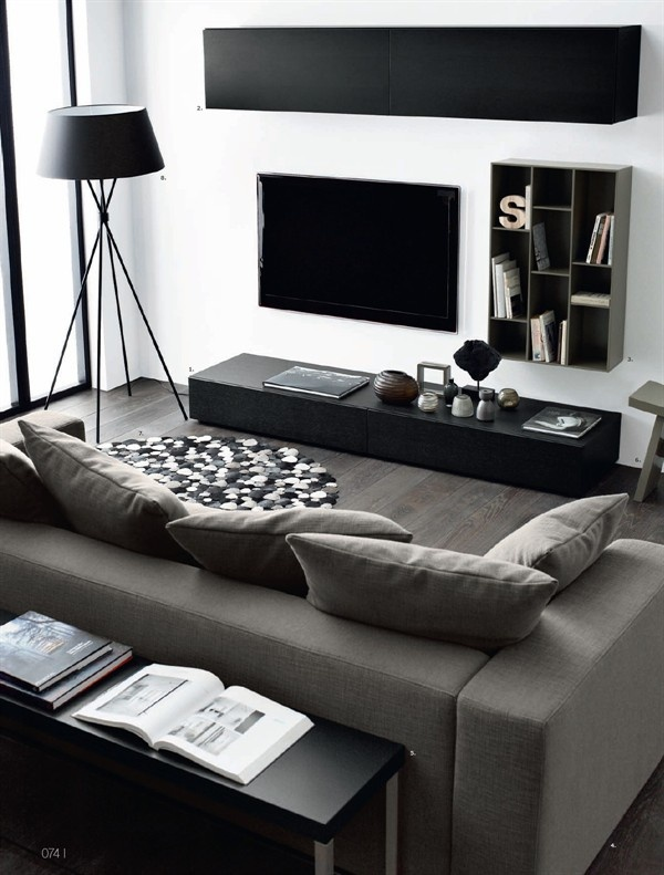 Contemporary style room decoration (21)