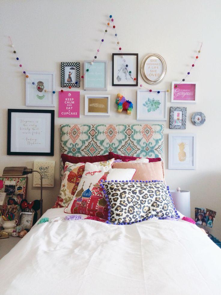 Detalles para decorar habitacion para mujer juvenil 26 - Decorar paredes habitacion juvenil ...